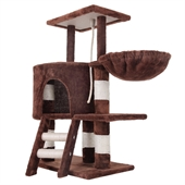 Confidence Pet Deluxe Cat Tree - Brown - Image 1