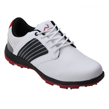 Woodworm Player V2.0 Golf Shoes - White/Red