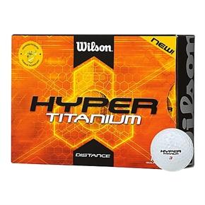 12 Wilson Hyper Titanium Golf Balls