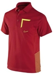 Nike Dri-Fit Novelty One Boys' Golf Polo