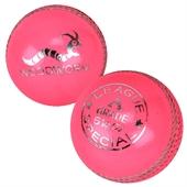 6 x Woodworm League 5 1/2oz Cricket Balls PINK - Image 1