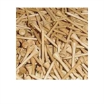 500 Wooden Golf Tees - 2 1/8