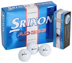12 Personalised Srixon AD333 Golf Balls