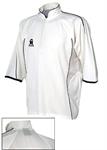 CA Micro Mesh Plus Cricket Shirt - White/Blue