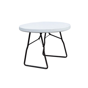 4ft Folding Round Table by Palm Springs Leisure