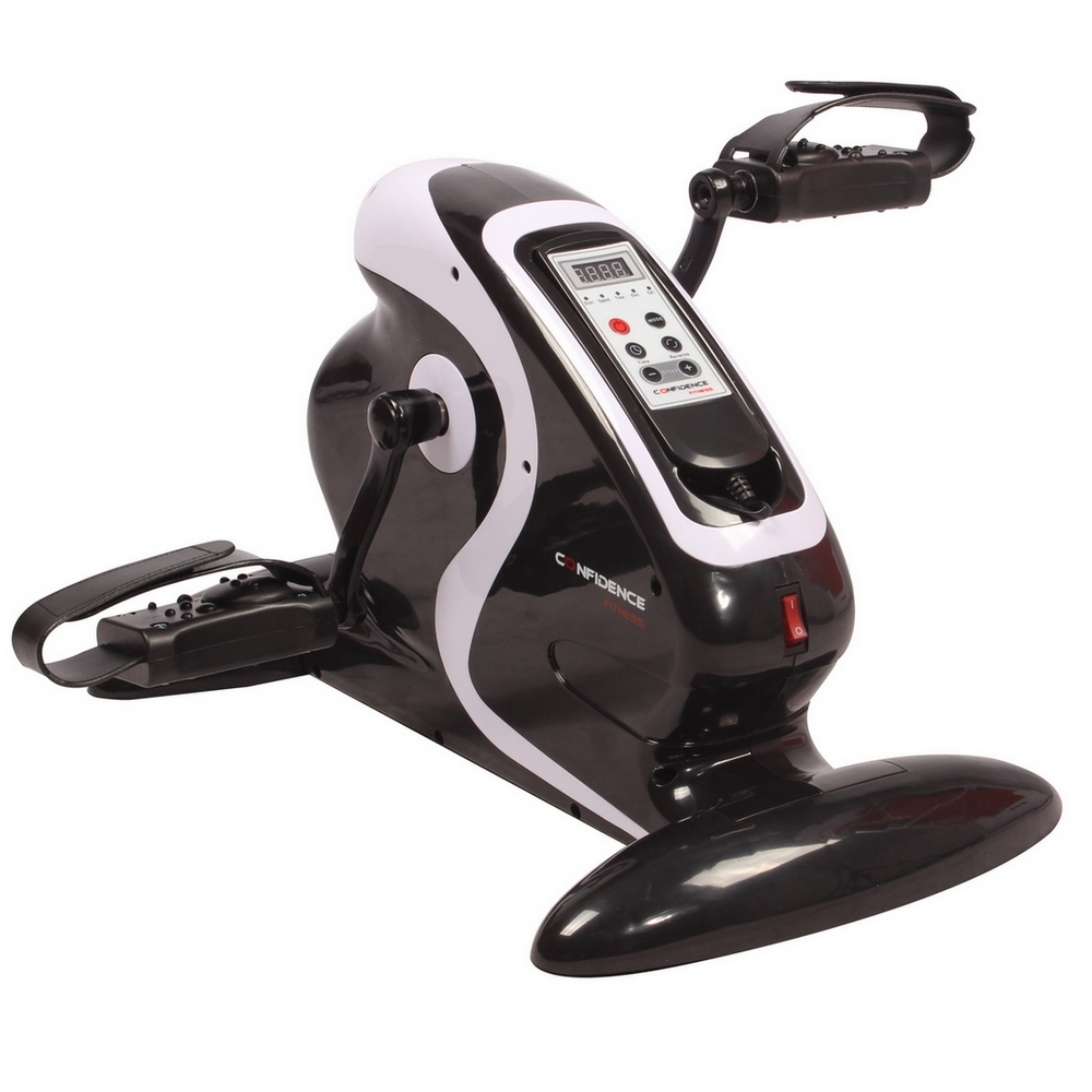 Confidence Fitness Motorized Electric Mini Exercise Bike