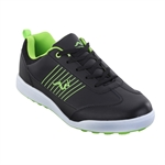 Woodworm Surge Golf Shoes - Black/Neon