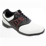 Confidence Golf Leather Waterproof Shoes White