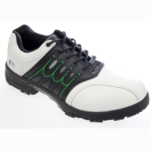 forgan of st leather waterproof golf shoes white