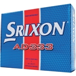 2 x 12 Srixon AD333 Golf Balls Orange