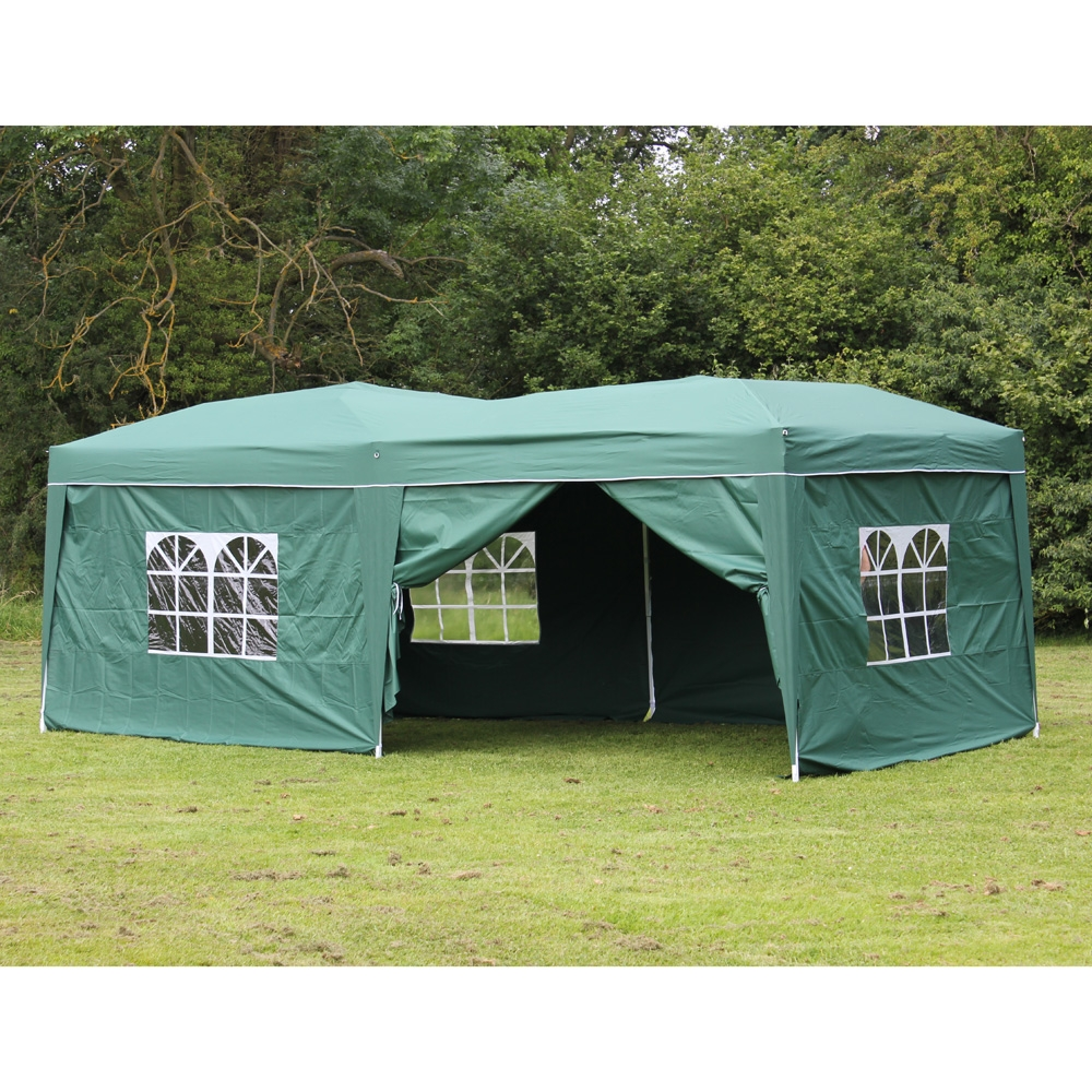 Pop Up Sidewalls : Palm springs pop up canopy gazebo party tent with