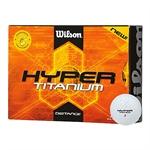 2 x 12 Wilson Hyper Titanium Golf Balls