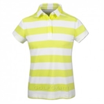 Nike Bold Stripe Girls' Golf Polo Shirt