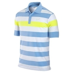 Nike Mens Bold Chest Stripe Polo Neptune Blue