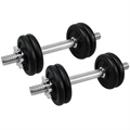 Confidence PRO 15kg/33lbs Dumbbell Weights Set