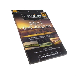 GreenFree 2-for-1 10 Voucher Gift Pack