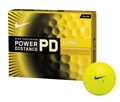 12 Nike Golf PD7 Power Distance Long Balls YELLOW