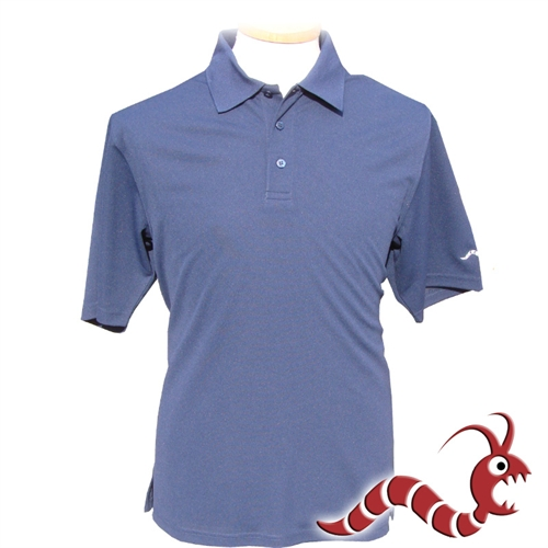 Woodworm golf plain polo shirt navy the sports hq for Plain navy polo shirts