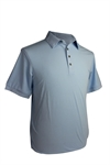 Adidas Mens AdiPure Heather Short Sleeve Polo