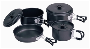 7pc Cook Set by Camping.co.uk