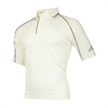 Woodworm Cricket 09/10 Junior Shirt MAROON TRIM