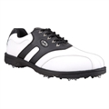 Confidence Golf Leather Waterproof Shoes II White