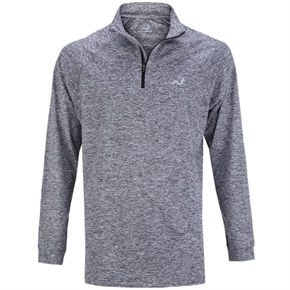 Woodworm Golf ¼ Zip Heather Pullover Sweater