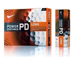 2x12 Nike Golf PD7 Power Distance Long Ball ORANGE