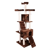 Confidence Pet Presidential Cat Tree - Brown - Image 1
