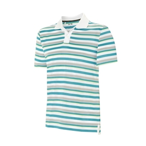 Adidas Mens Rugby Thin Stripe Polo