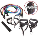 Confidence Fitness 12 Piece Resistance Band Set