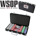 World Series Of Poker 300pc Set w/ Aluminium Case