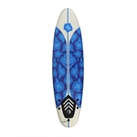 North Gear 6ft / 182cm  Foam Surfboard Blue/White