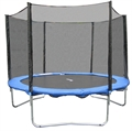 Woodworm 10FT Trampoline - Safety Net/Ladder/Cover