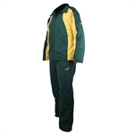 Woodworm Pro Series Tracksuit GREEN/GOLD