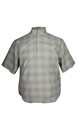 Ashworth SS Checkered Half Zip Windshirt