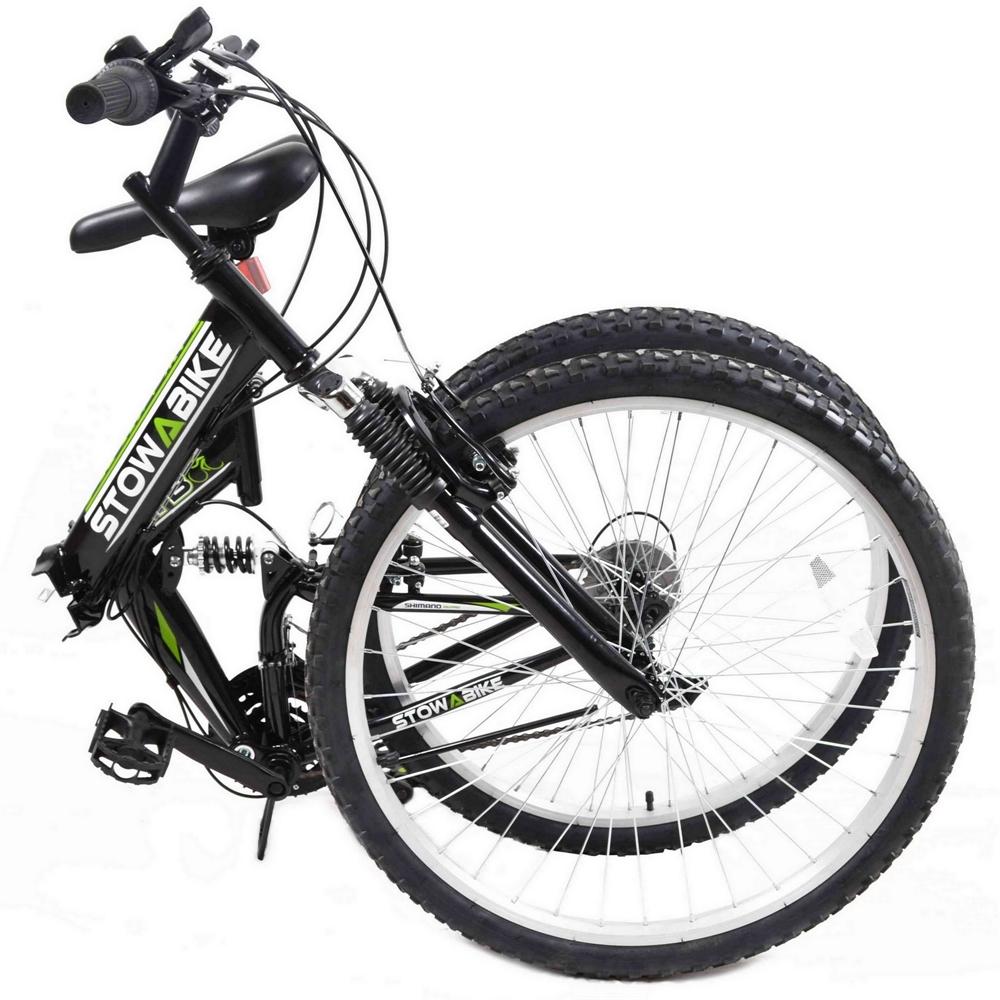Stowabike-26-034-MTB-V2-Folding-Dual-Suspension-18sp-Gears-Mountain-Bike