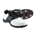 Woodworm Golf PLAYER Golf Shoes WHITE/BLACK