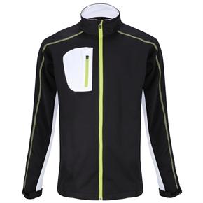 Woodworm Golf Full Zip Soft Shell Jacket