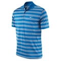 Nike Golf Tech Stripe Polo - Blue