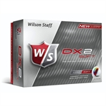 2 x 12 Wilson Staff Dx2 Soft Golf Balls