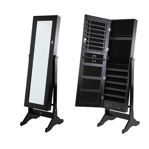 miroir sur pied avec coffre a bijoux maison design. Black Bedroom Furniture Sets. Home Design Ideas