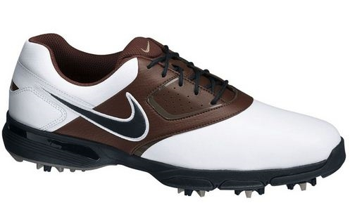 nike golf heritage golf shoes white brown the sports hq
