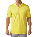 Adidas Golf Performance Polo Shirt - Yellow