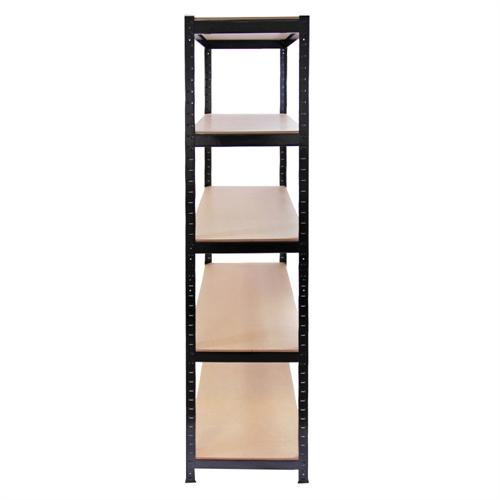 homegear heavy duty 5 tier storage shelving unit the. Black Bedroom Furniture Sets. Home Design Ideas