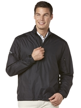 Callaway Gust Long-Sleeve 1/4 Zip Windshirt Black