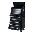Homegear 14 Drawer Tool Box Chest & Roller Cabinet