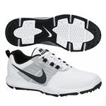Nike Explorer Golf Shoes - White/Black