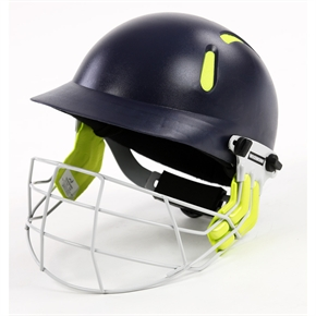 Woodworm 'Tough Nut' Fluo Mens Cricket Helmet