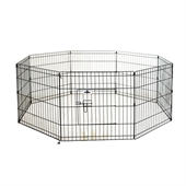 Confidence Pet Metal Dog Playpen - Small - Image 1